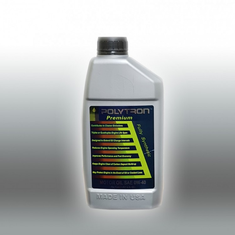 POLYTRON Full Synthetic Motor Oil SAE 0W40 - Oil Change Interval 50.000 km