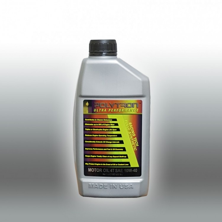 POLYTRON Racing 4T 10W40 Motorcycle Oil - 1 L