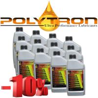 Promo 107 - POLYTRON Semi Synthetic Motor Oil SAE 10W40 - Oil Change Interval 25.000 km - 12x1L