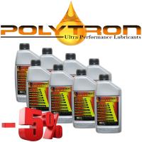 Promo 106 - POLYTRON Semi Synthetic Motor Oil SAE 10W40 - Oil Change Interval 25.000 km - 8x1L