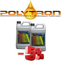 Promo 66 - POLYTRON Full Synthetic Motor Oil SAE 5W30 - Oil Change Interval 50.000 km - 2x4L