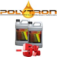 Promo 101 - POLYTRON Semi Synthetic Motor Oil SAE 10W40 - Oil Change Interval 25.000 km - 2x4L