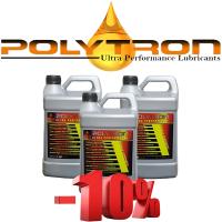 Promo 102 - POLYTRON Semi Synthetic Motor Oil SAE 10W40 - Oil Change Interval 25.000 km - 3x4L