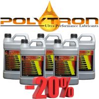 Promo 104 - POLYTRON Semi Synthetic Motor Oil SAE 10W40 - Oil Change Interval 25.000 km - 5x4L