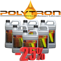 Promo 105 - POLYTRON Semi Synthetic Motor Oil SAE 10W40 - Oil Change Interval 25.000 km - 6x4L