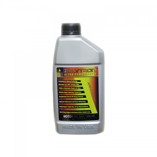 POLYTRON Full Synthetic Motor Oil SAE 10W30 - Oil Change Interval 50.000 km