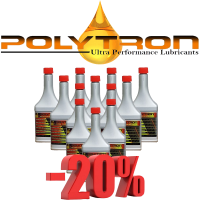 Promo 18 - POLYTRON GDFC - Gasoline-Diesel Fuel Conditioner - 12x355ml.