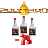 Promo 14 - POLYTRON GDFC - Gasoline-Diesel Fuel Conditioner - 3x355ml.