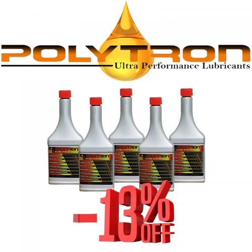 Promo 16 - POLYTRON GDFC - Gasoline-Diesel Fuel Conditioner - 5x355ml.