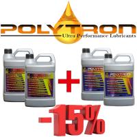 Promo 31 - POLYTRON MTC metal treatment concentrate (Oil Additive) 2x4L + POLYTRON GDFC - Gasoline-Diesel Fuel Conditioner 2x4L