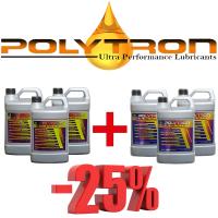 Promo 32 - POLYTRON MTC metal treatment concentrate (Oil Additive) 3x4L + POLYTRON GDFC - Gasoline-Diesel Fuel Conditioner 3x4L