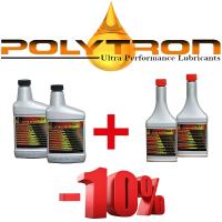 Promo 26 - POLYTRON MTC metal treatment concentrate (Oil Additive) 2x473ml. + POLYTRON GDFC - Gasoline-Diesel Fuel Conditioner 2x355ml.