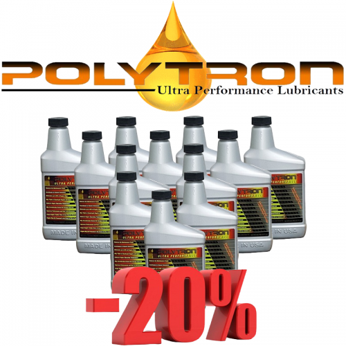 Promo 6 - POLYTRON MTC metal treatment concentrate (Oil Additive) - 12x473ml.
