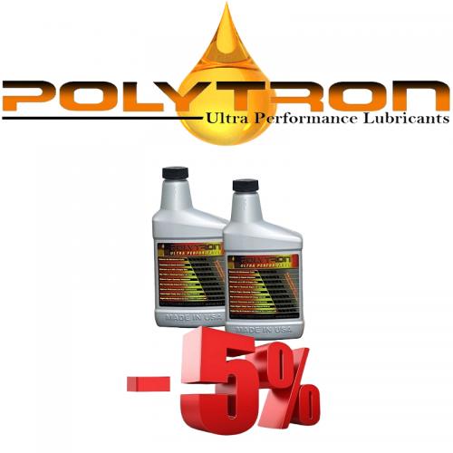 Promo 1 - POLYTRON MTC metal treatment concentrate (Oil Additive) - 2x473ml.