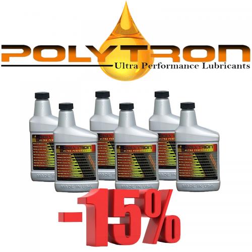Promo 5 - POLYTRON MTC metal treatment concentrate (Oil Additive) - 6x473ml.