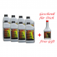 POLYTRON Full Synthetic Motor Oil SAE 10W40 - 8 Liter + Free Gift POLYTRON GDFC - Gasoline-Diesel Fuel Conditioner - 0,355 Liter